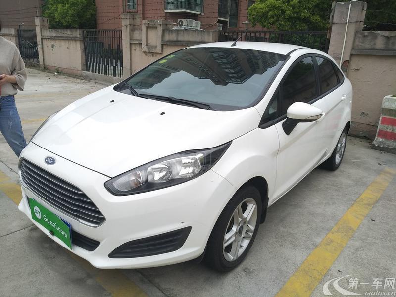 福特嘉年华 2013款 1.5L 手动 风尚型 (国Ⅳ)
