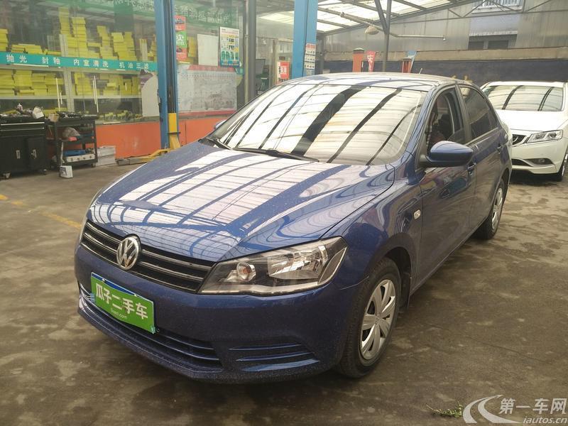 大众捷达 2013款 1.6L 手动 汽油 时尚型 (国Ⅳ)