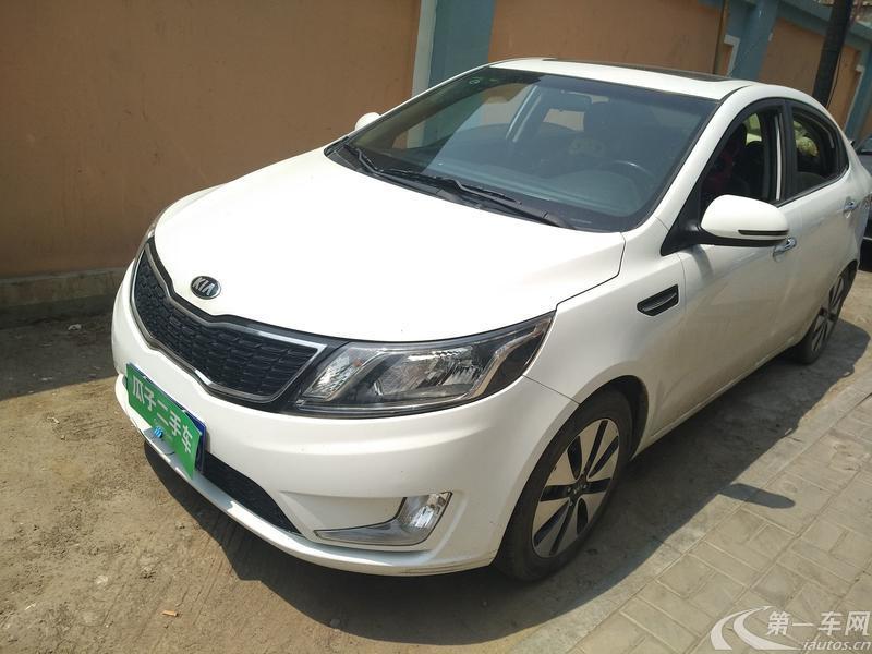 起亚K2 2012款 1.6L 自动 4门5座三厢车 Premium (国Ⅳ)