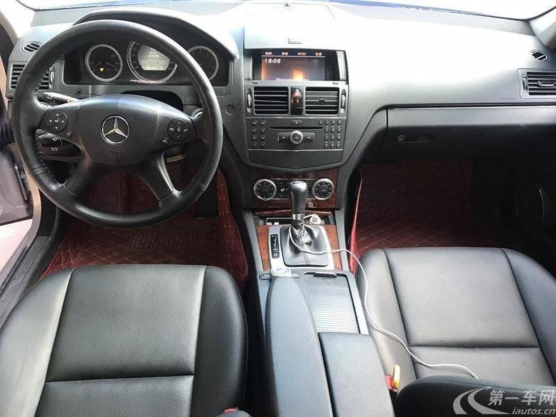 奔驰C级 C200 2009款 1.8T 自动 时尚型 (国Ⅳ)