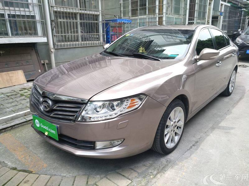 传祺GA5 2012款 1.8L 自动 尊贵型 (国Ⅳ)