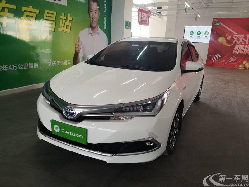 丰田卡罗拉 2017款 1.8L 自动 领先版改款 (国Ⅴ)